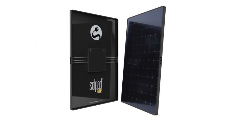 SolPad Mobile kaasaskantav päikesepaneel.