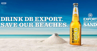 DB Export Beer Bottle Sand
