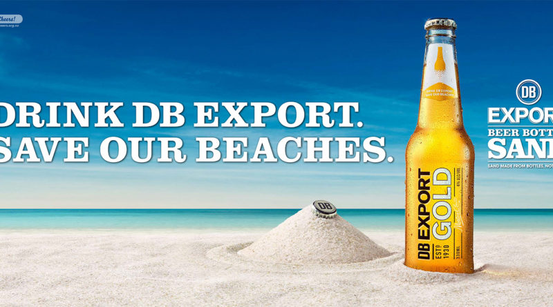 DB Export Beer Bottle Sand