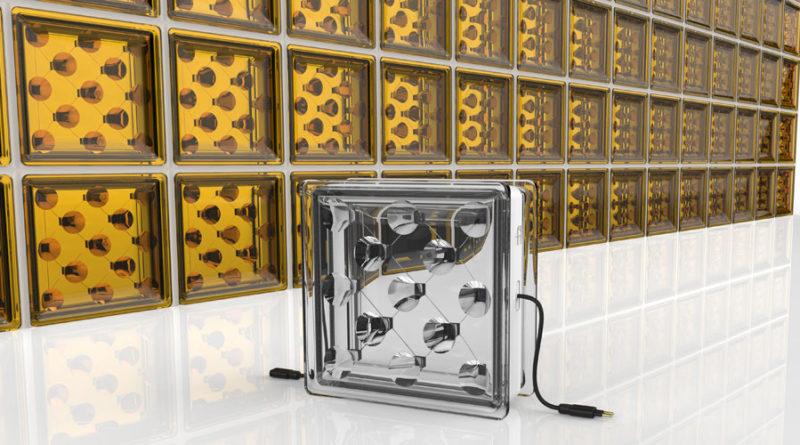 Elektrit tootvad klaasist seinaplokid