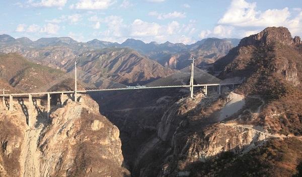 El Puente Baluarte vantsild