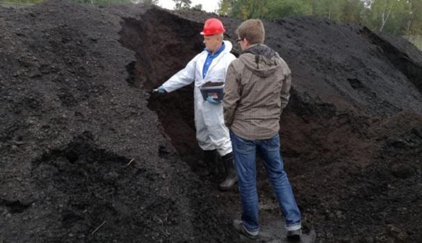 reoveesettest toodetud komposti