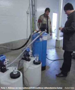 radionukliidide ärastamine joogiveest