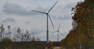 Enefit Greeni taastuvenergia toodang 2017. aastal. Eesti Energia soovib rajada tuulepargi Pärnumaale