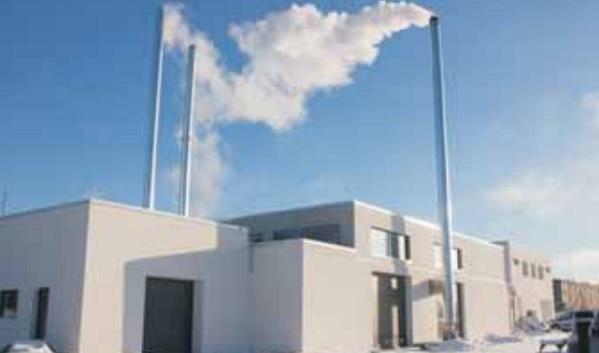 Tabivere biokütuse katlamaja.