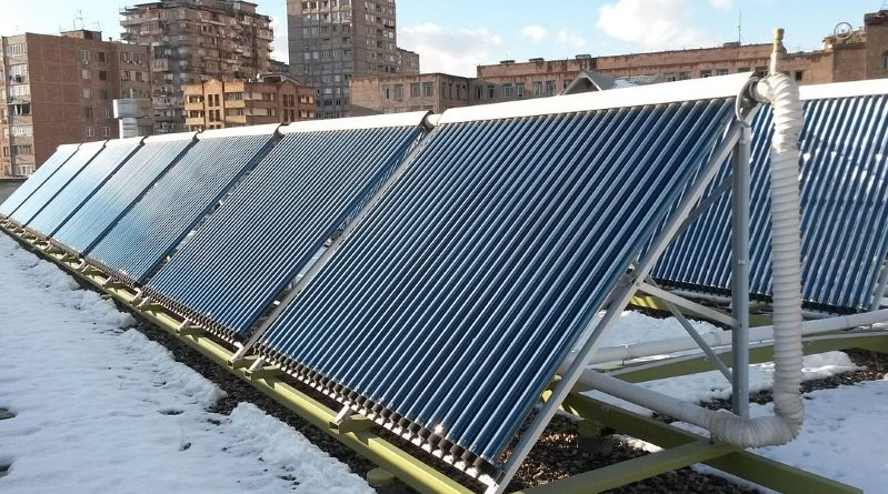 vaakum-päikesekollektor
