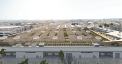 köögiviljaaed Pariisis messihalli katusel