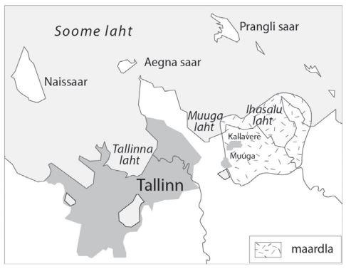 Neeme graniidimassiivi asend Tallinna ümbruse aluskorras