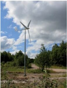 Elektrituulik võimsusega 2 kW