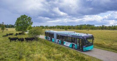 Uued gaasibussid Tallinna linnaliinidel