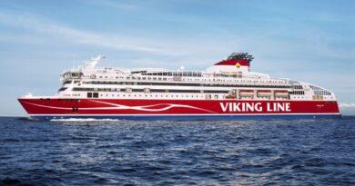 ABB lõi Viking Line'i kiirlaevale kaldaelektriühenduse