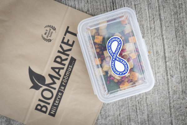 Tänasest saab Balti Jaama Turul osta toitu kaasa prügivabalt
