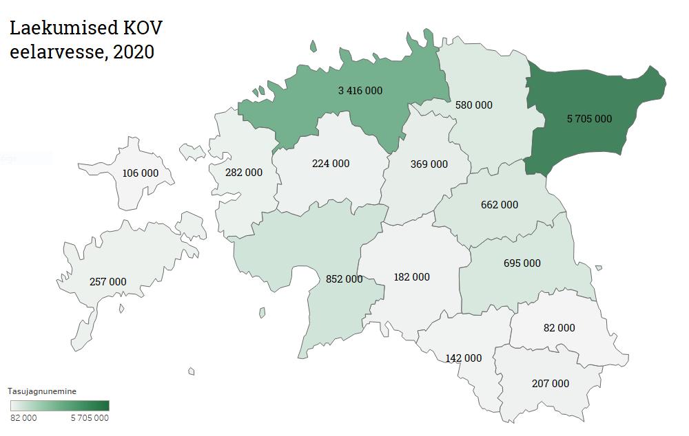 Keskkonnatasud Eestis 2020