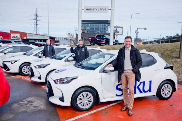 Saku Õlletehas vahetab autopargi välja uue põlvkonna Toyota hübriidide vastu