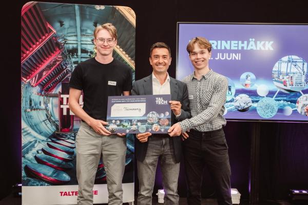 TalTech MarineHäkk otsis uudseid lahendusi jätkusuutlikuks mereriigi arenguks