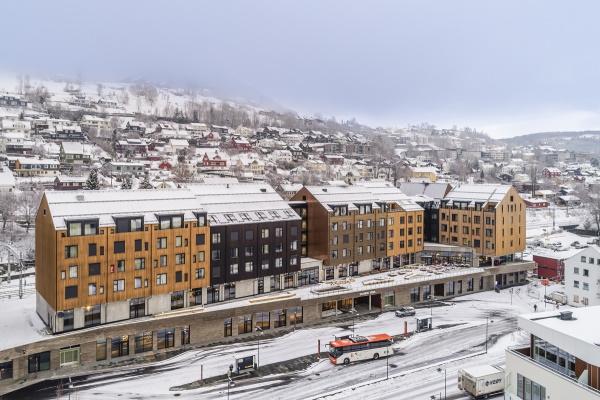 Aasta parim puidust tehasemaja on Kodumaja hotell-konverentsikeskus Norras